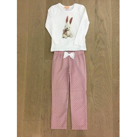 Duranti Bunny oldpink pyjama