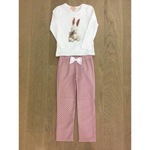 Bunny oldpink pyjama