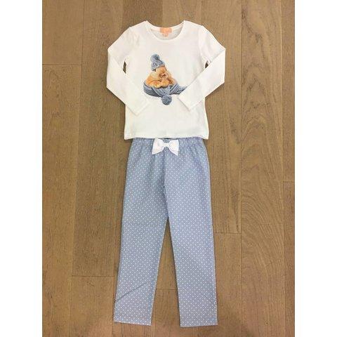 Rabbit Blue Pyjama LL