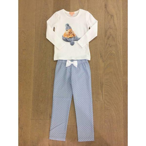 Duranti Rabbit Blue Pyjama LL