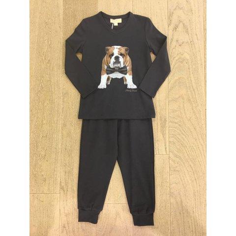 Bulldog Bow Pyjama LL