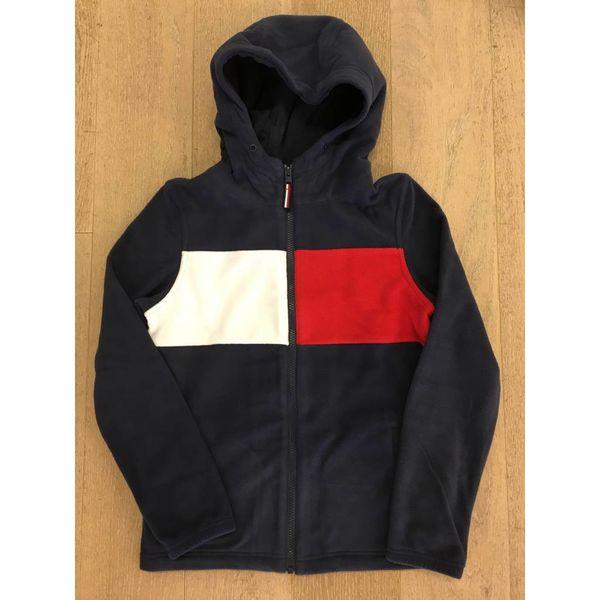 Tommy Hilfiger KB04425 polar fleece zip hoodie