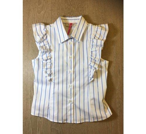 Pinko 1A11AJ-Y5C8Borbore camica bastonetto bloes