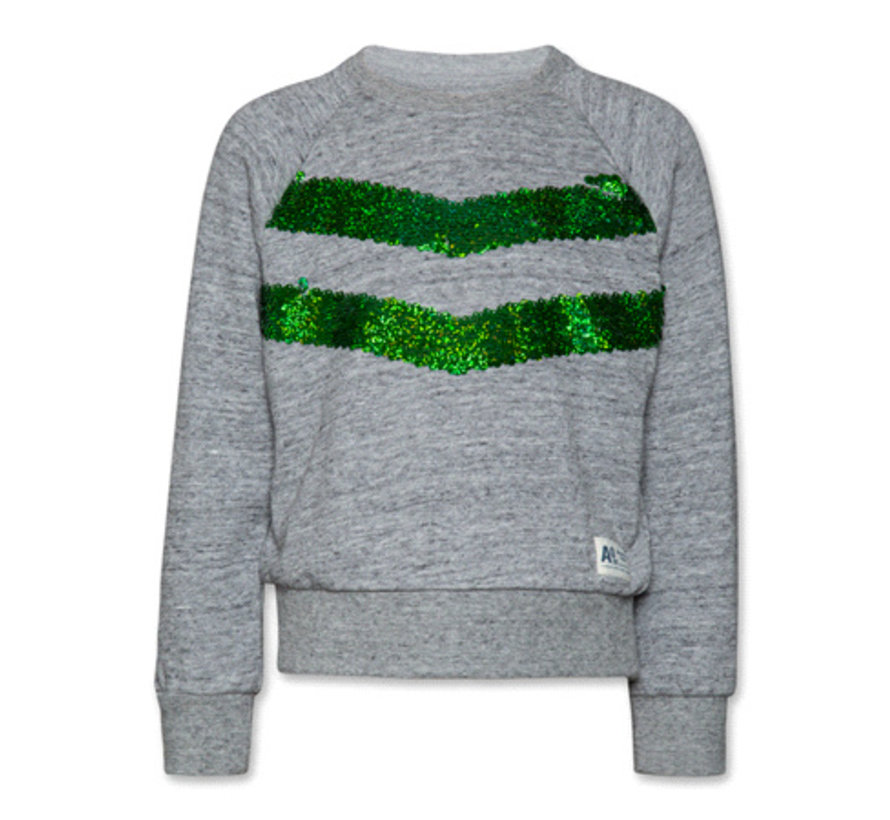 119-1202-21C-neck sweater sequins