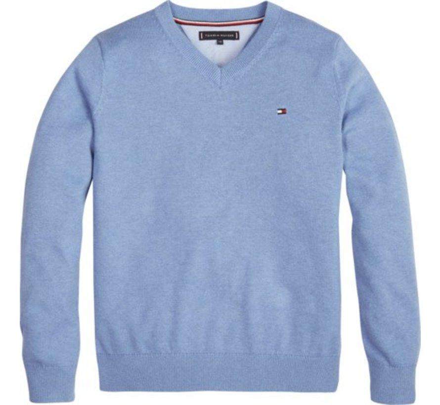 KB04499Essential Organic V Neck Sweater