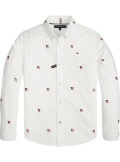Tommy hilfiger pre KB04517Allover TH Oxford Shirt