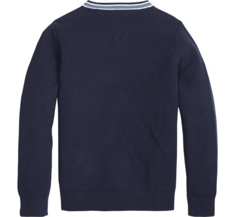 KB04564Cricket V Neck Sweater