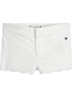 Tommy hilfiger pre KN00972Baby Girl Broderie Shorts