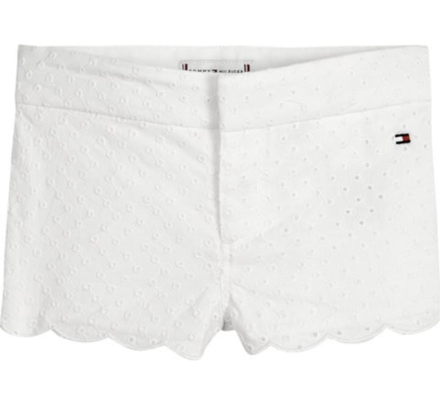 KN00972Baby Girl Broderie Shorts