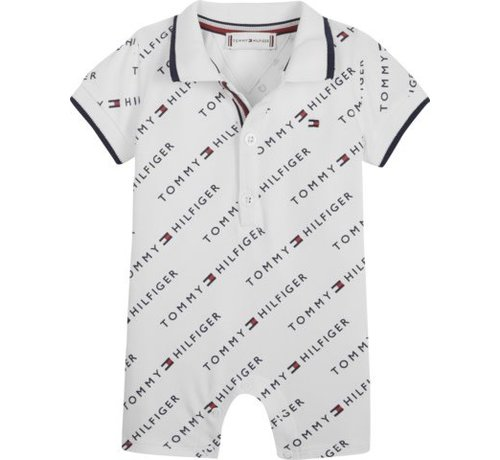 Tommy hilfiger pre KN01002Baby Polo Tommy Printed Shortall
