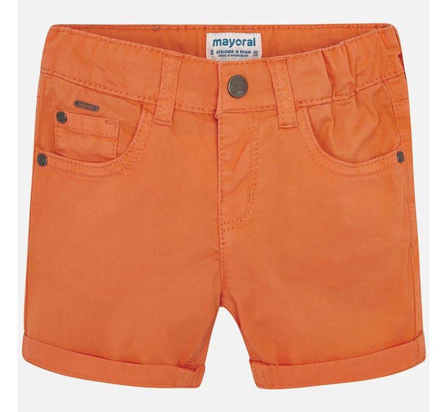 204Basic 5 pockets twill shorts