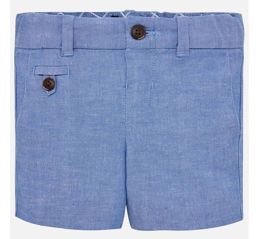 1238Linen dressy shorts