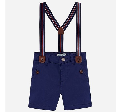 Mayoral 1244Chino shorts with suspenders