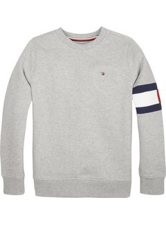 Tommy Hilfiger KB04658Cut sew flag sweatshirt