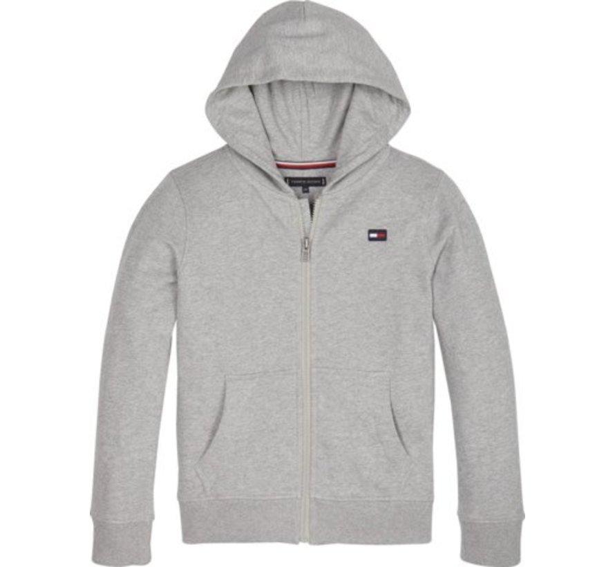 KB04659Hilfiger logo zip hoodie