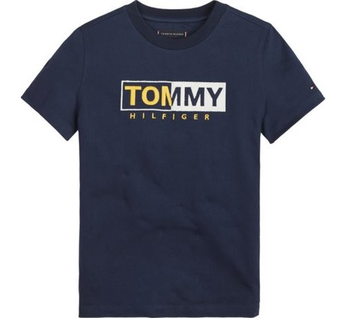 Tommy Hilfiger KB04681Essential graphic embr tee s/s