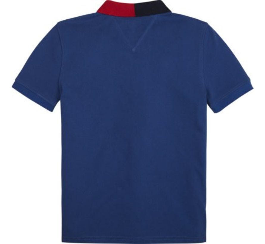 KB04713Colorblock polo s/s