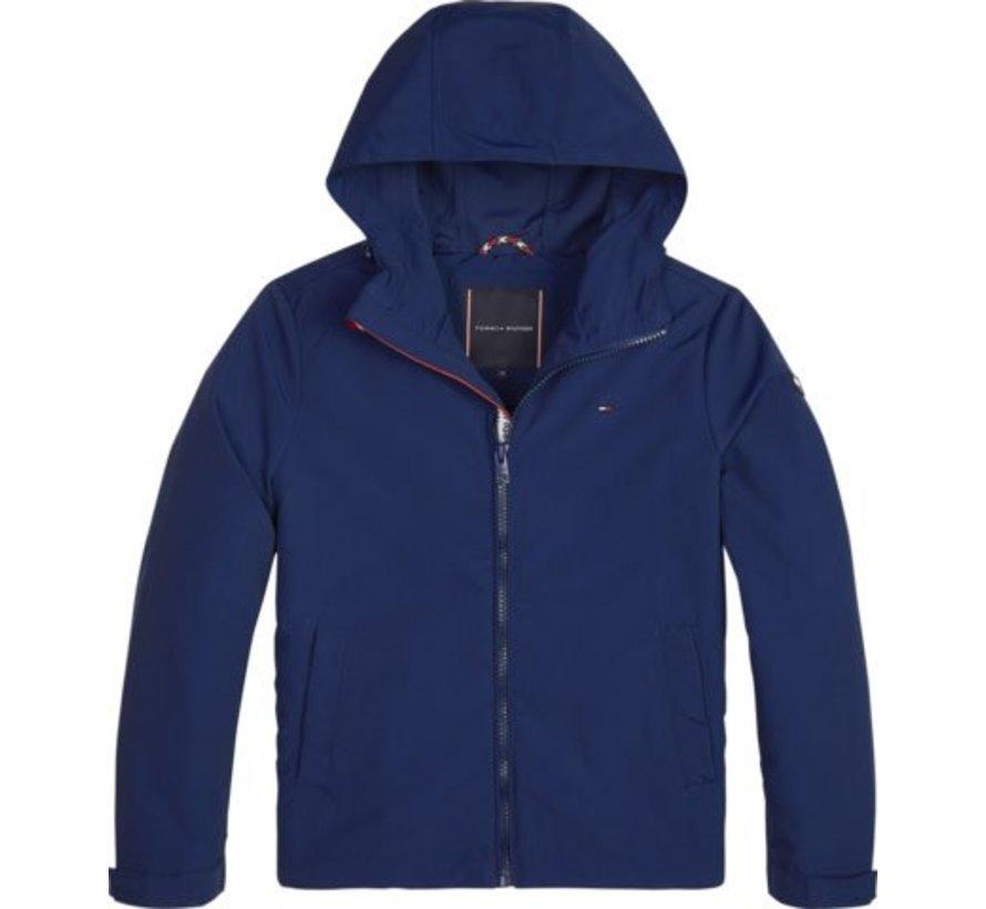KB04723Packable hooded jacket