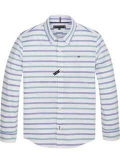Tommy Hilfiger KB04769Horizontal oxford stripe l/s