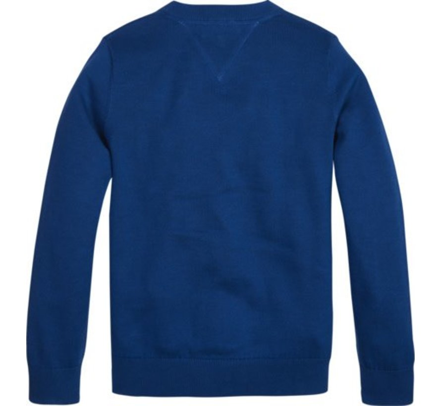 KB04789Essential organic v-neck sweater