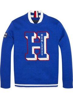 Tommy Hilfiger KB04793Fashion letterman sweater