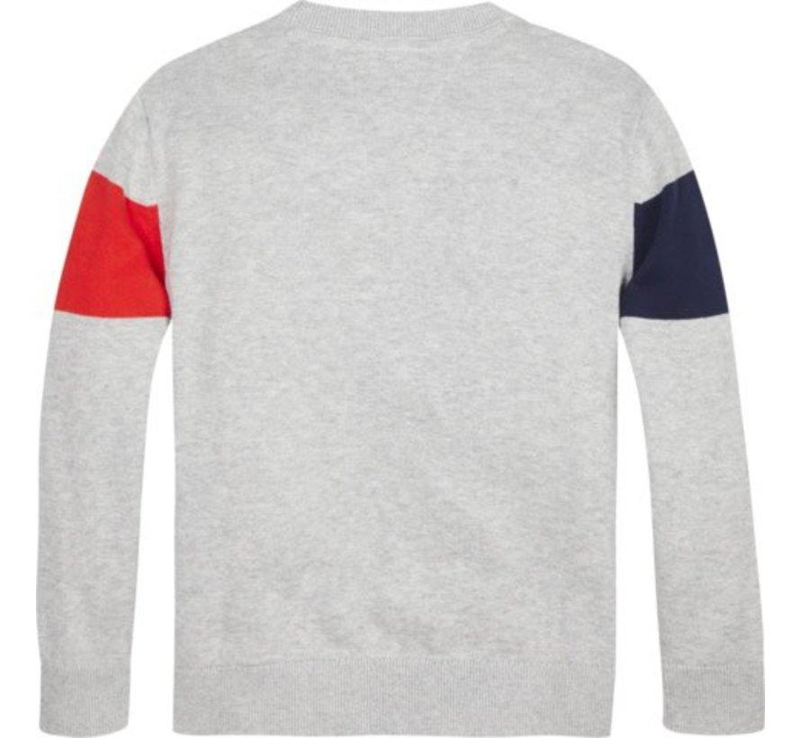 KB04820Colorblock sweater