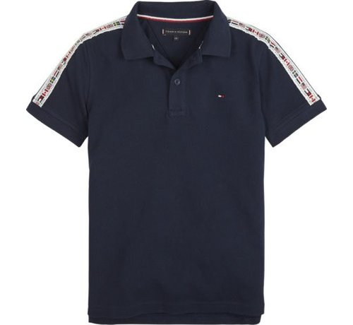 Tommy Hilfiger KB04824Flag tape polo s/s