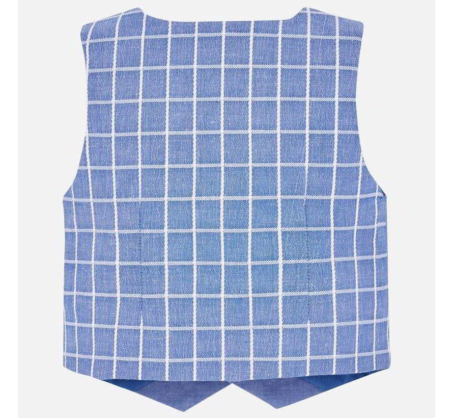1313Dressy linen vest