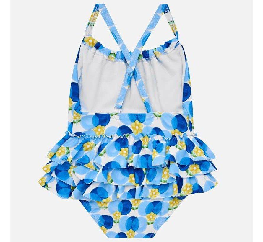1751Girls printed swimsuit