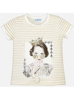 Mayoral 3010Striped t-shirt