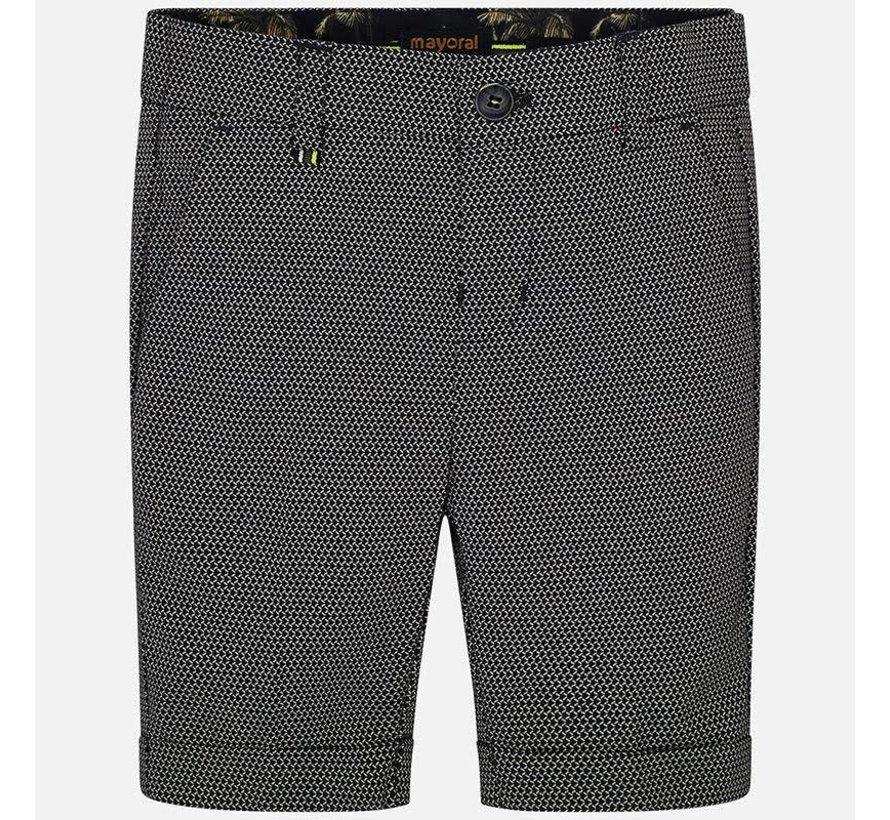 3225Tailored linen shorts