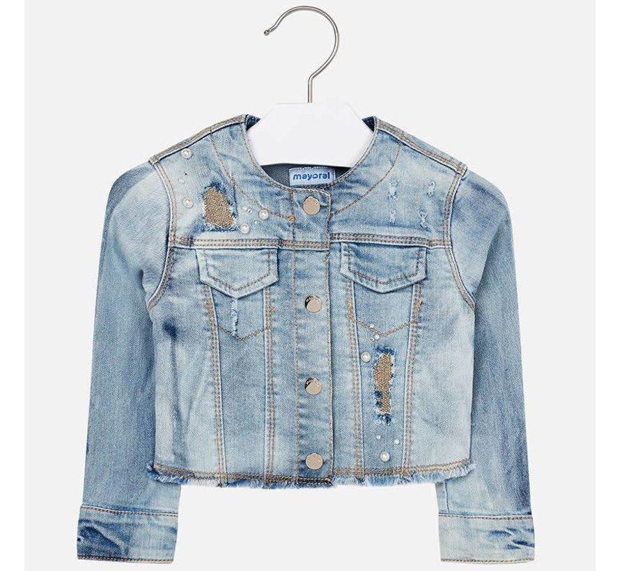 3408Denim jacket