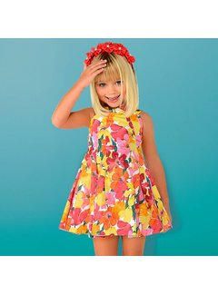Mayoral 3925Flower dress