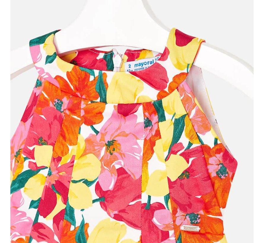 3925Flower dress