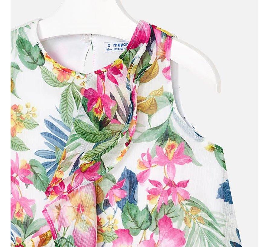 3941Printed dress