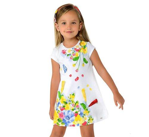 Mayoral 3948Printed dress