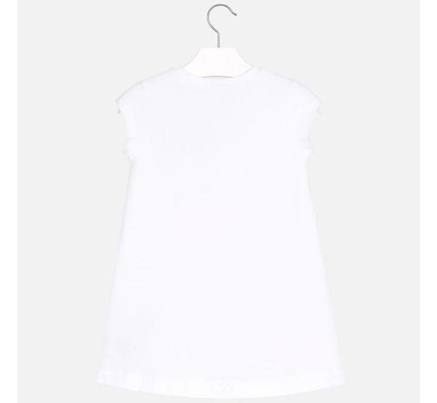 3948Printed dress