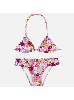 Mayoral 6708Print triangle bikini