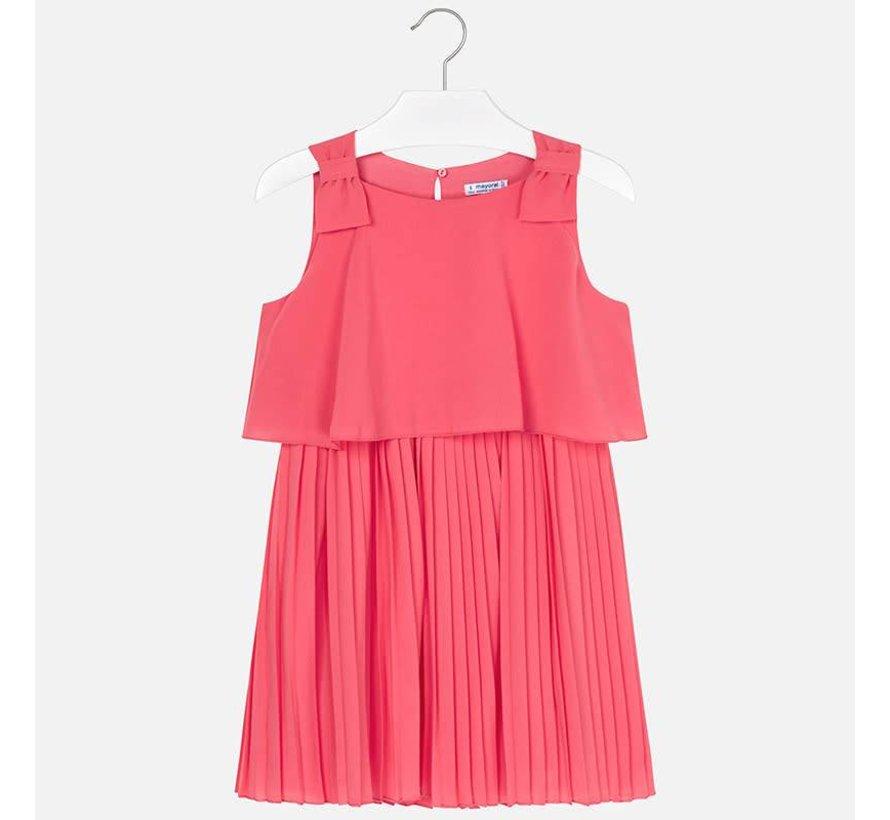 6930Pleated dress