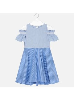Mayoral 6936Striped dress