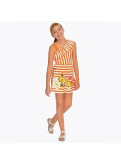 Mayoral 6948Strips dress