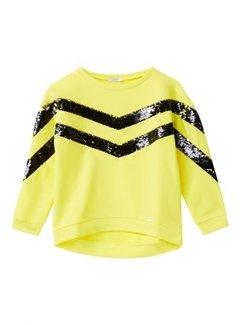 Liu Jo G19006F0764Felpa maxi geometric sweater
