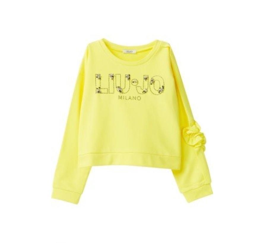 G19023F0764Felpa chiusa logo sweater