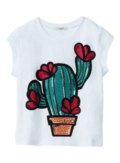 Liu Jo G19075J0166T-shirt cactus