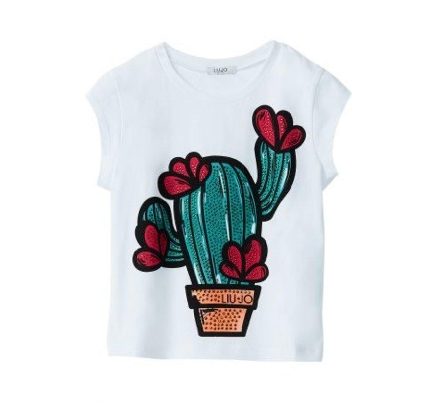G19075J0166T-shirt cactus