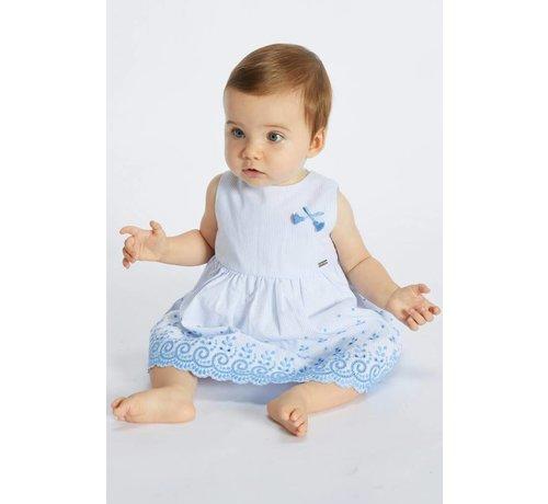 blue bay baby 71120019Kleed abella broderie