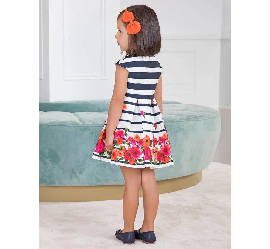 5.050Satin printed dress