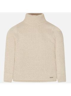 Mayoral 136Basic ribbing mockneck sweater