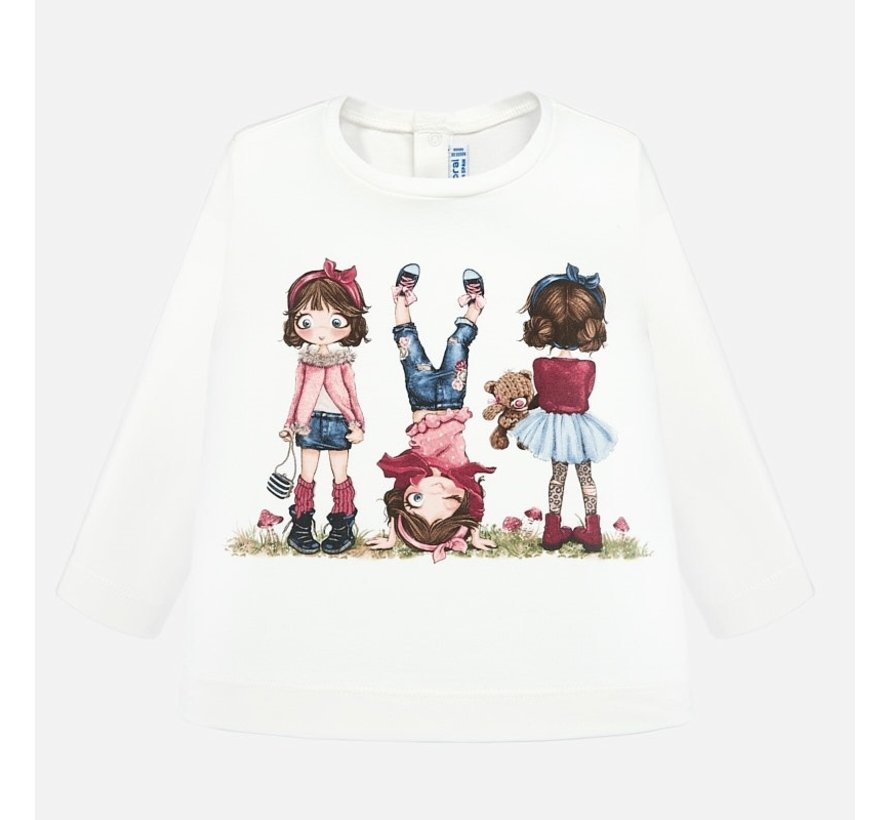 2010L/s printed t-shirt