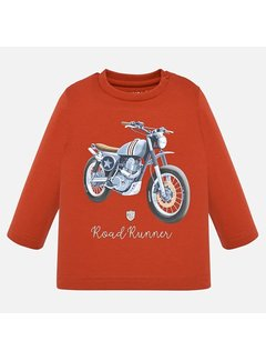 "Mayoral 2019L/s ""road runner"" t-shirt"